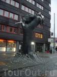 в одном из районов Осло, очевидно пролетарском :)