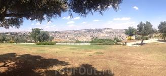 Панорама на Иерусалим