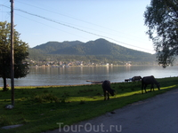 озеро Телецкое, с.Артыбаш