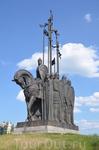 Псков, гора Соколиха. Памятник князю Александру Ярославовичу, именуемому Невским