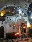Храм Гроба Господня в наше время поделен на пределы основных христианских конфессий: католической, православной, армянской, сирийской, коптской и эфиопской ...