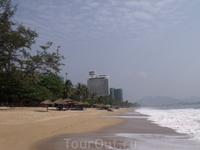 Нячанг. Пляж