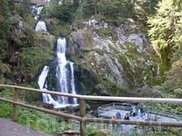 7-каскадный водопад Триберг