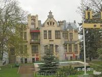 Один из корпусов военного санатория