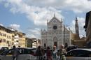 С базилики  Санта Кроче на площади  Санта Кроче ( площадь Святого  Креста) началась наша экскурсия по городу, ее провела  Франческа,  гид по  Флоренции ...