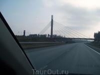 Вантовый мост над шоссе Тампере-Хельсинки