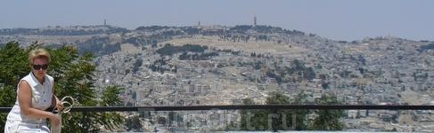 Иерусалим.Вид со смотровой площадки.