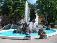 Очередной фонтан в Лугано
