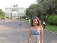 у резиденции правителя Дубая