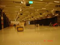 тут и выставки можно устраивать, и в хоккей играть, и на машинках гонять)))