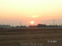 Восход вблизи Каира
