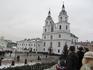 Православный храм, который был построен во времена Великого княжества Литовского и предназначался католикам. А после присоединения к России переделан в ...