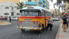 Мальтийские автобусы. К сожалению с июля эти авто будут меняться на новые...Жаль