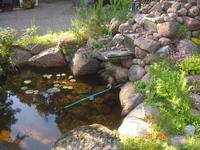 рядышком мини-водопад