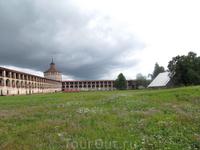 Кирилло-Белозерский монастырь. стены нового города