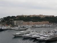 Вид на Монако-Вилль  со стороны Монте-Карло