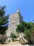 Французская башня является самой высокой из башен замка и достигает 47,5 метров над уровнем моря.