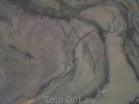 Мрамор на срезе