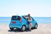 А это наша машинка  Наш Suzuki Splash , в аренду на 3 дня 118 евриков