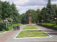 Памятник В.И.Чапаеву (он родился  деревне Будайки, ныне в черте г. Чебоксары)