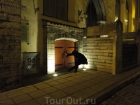 Ночные улицы Таллинна