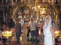 Иерусалим. Голгофа - небольшая скала или холм, где был распят Иисус Христос. Наряду с Гробом Господним является одной из двух главных святынь христианства ...