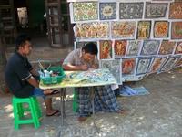 художник продал мне своё творение за 6000 ихних бат.200р.по нашему