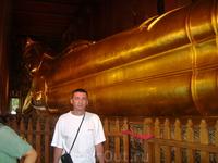 24 декабря 2010. Бангкок. Храм Золотого Лежащего Будды.
