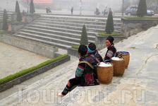 женщины из племени черных хмонгов