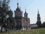 на территории Коломенского кремля. Крестовоздвиженский собор