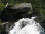 Водопад Корбу - самый его верх.