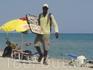 Торговец на пляже