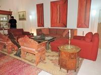 Небольшая гостиная в комнате, где рисовал Клаудио Браво