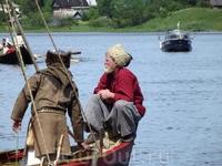 Старая Ладога. 1150 лет государственности Руси. Река Волхов