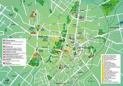 Туристическая карта Ташкента