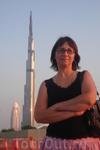 ОАЭ/ башня бурдж Дубай. Самое высокое строение в мире. Она спроектирована так, что при желании ее всегда можно надстроить. Там расположены офисы и гостиничные ...