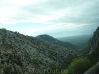 Путешествие через горы в бухту La Calobra.