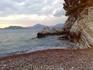пляж возле о.св.Стефан