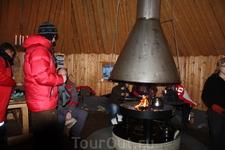 Традиционное лапландское жилище.