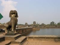 Дорога к Ангкор Вату