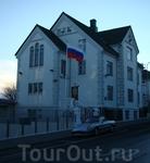 посольство России конечно же находится в престижном районе