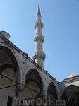 один из минаретов Голубой мечети