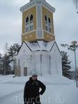 колокольня рядом с цекровью в Керимяки