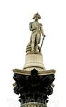 А вот и Лорд Нельсон - однорукий и одноглазый герой морского сражения 1805 года, в котором английский флот разгромил совместные франко-испанские силы Наполеона ...