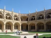 внутренний двор монастыря Иеронимитов