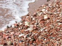 камушки , пляж Св.Стефан