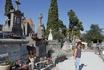 а это кладбище возле французского города крепости Каркассон