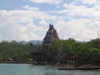 аквариум на острове Tri nguyen, где представлены все виды морской фауны Южно - Китайского моря