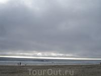 Пляж в г. Хантингтон-Бич.