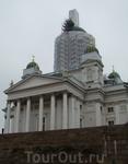 Католический храм в центре Хельсинки
